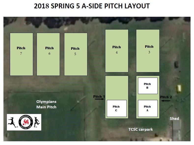 2018  Pitch  Layout